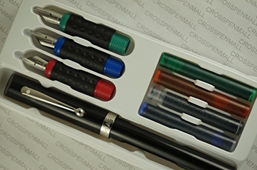 1. Cross Sheaffer Made in the USA Classic Calligraphy Kit – 8 Pieces with Warranty