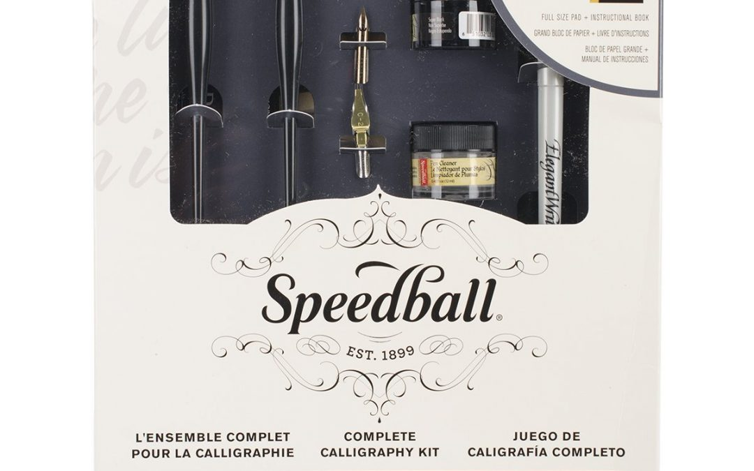 10. Speedball Art Products Complete Calligraphy Kit